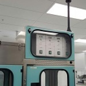 AR oven used to make lenses for glasses.