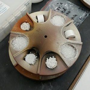 AR Minerals used to make glasses lenses.