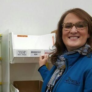 Stephanie Kopp visiting Walman Optical