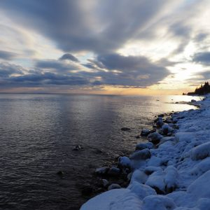 Winter on Minnesota's Northshore of Lake Superior. Photo by Marty Weintraub.