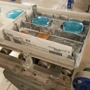 Blue glasses lenses made at Walman Optical