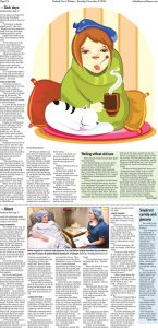 Page two of a Duluth News Tribune article about iStent treatment for Glaucoma and Relf EyeCare's, Dr. Lisa Graham.