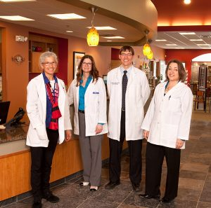 A group shot of our eye doctors at Relf EyeCare serving Duluth-Hermantown Area.