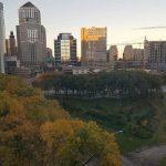 Minneapolis, MN in the fall.