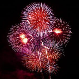 fireworks finale