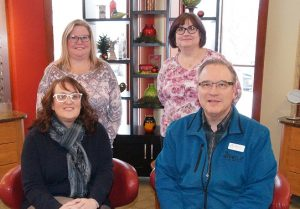 A Group Picture of the Opticians Team at Relf EyeCare serving Duluth and Hermantown.
