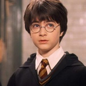 An image of a young Harry Potter.