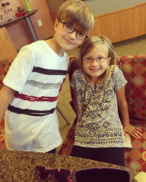 We offer children's eye appointments.