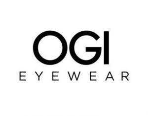 OGI Eyewear logo, OGI eye glasses are available at Relf EyeCare.
