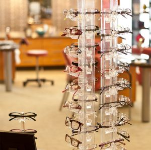 An image of a product tree full of Eyewear available at Relf EyeCare in Duluth-Hermantown.