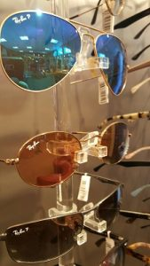 A display of our sunglasses available.