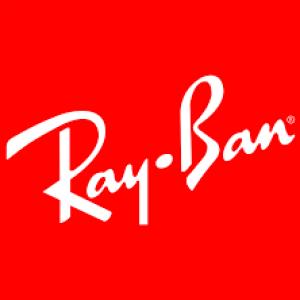 Ray Ban logo.