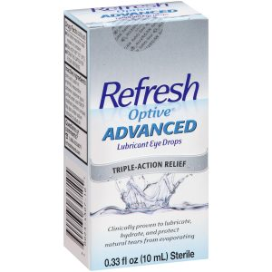 Refresh Eyedrops Bottle