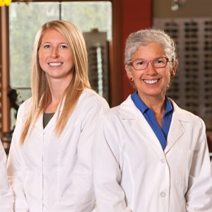 Doctors Janelle Strom on the left and Susan Relf on the right.